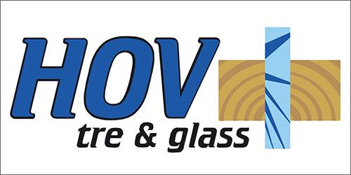 Hov tre og glass logo