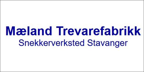 Mæland Trevarefabrikk logo